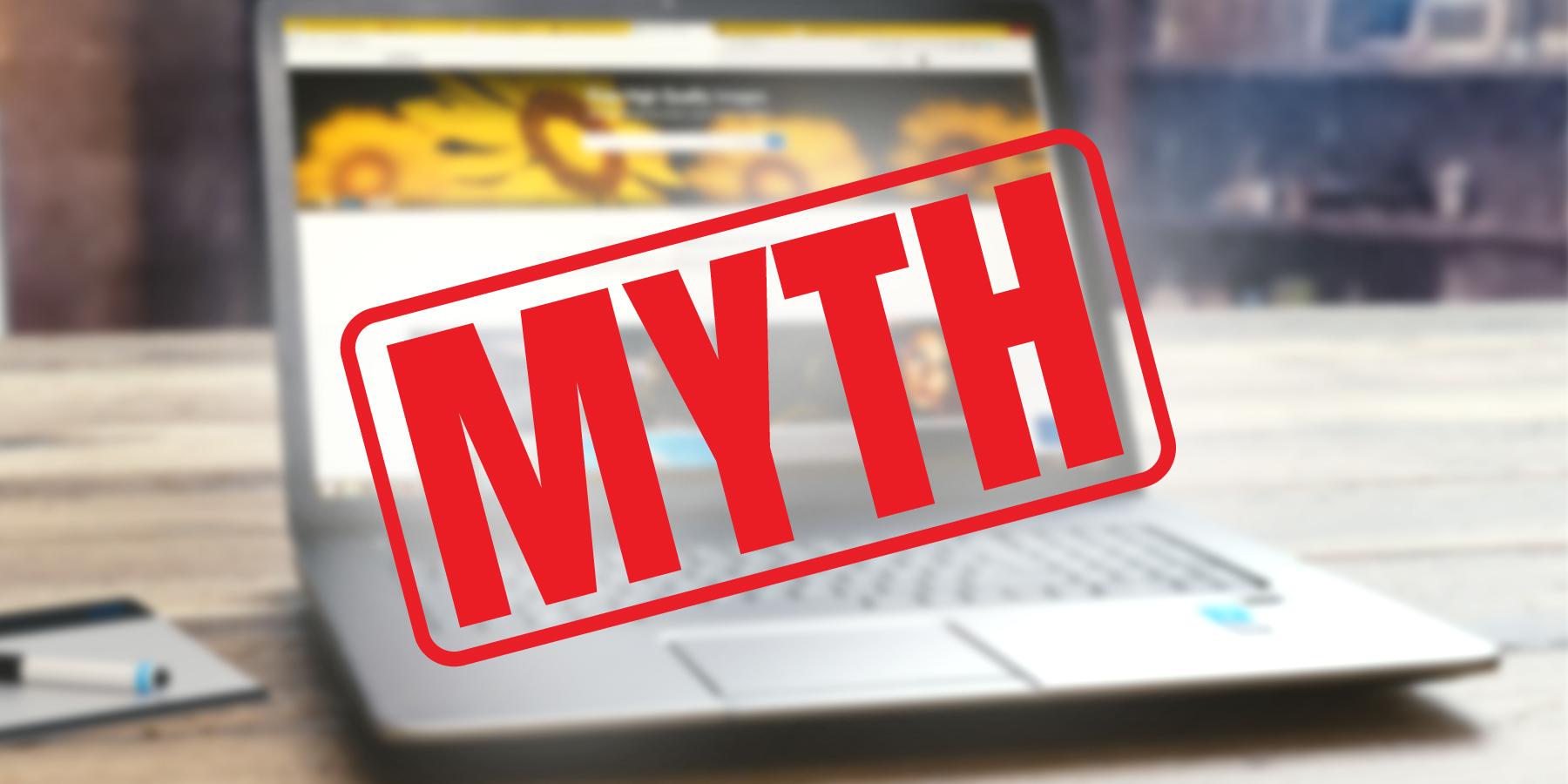 5 Myths About Website Designing
